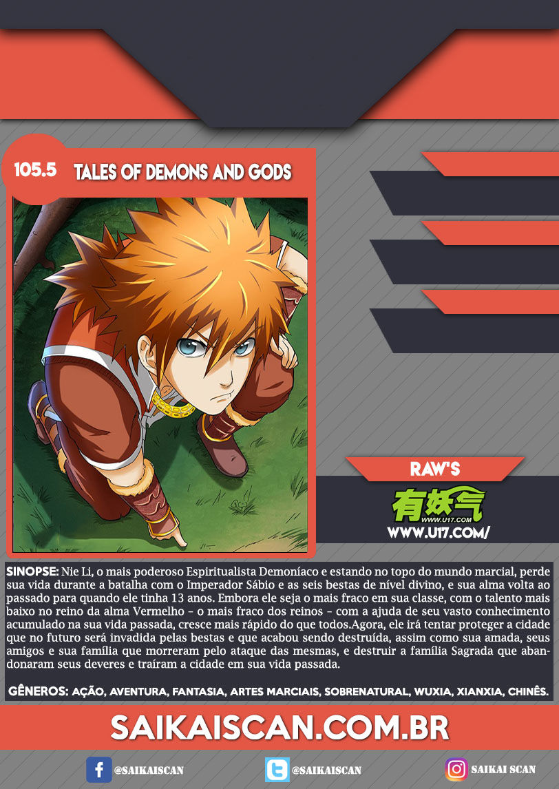 Tales of Demons and Gods 105.5