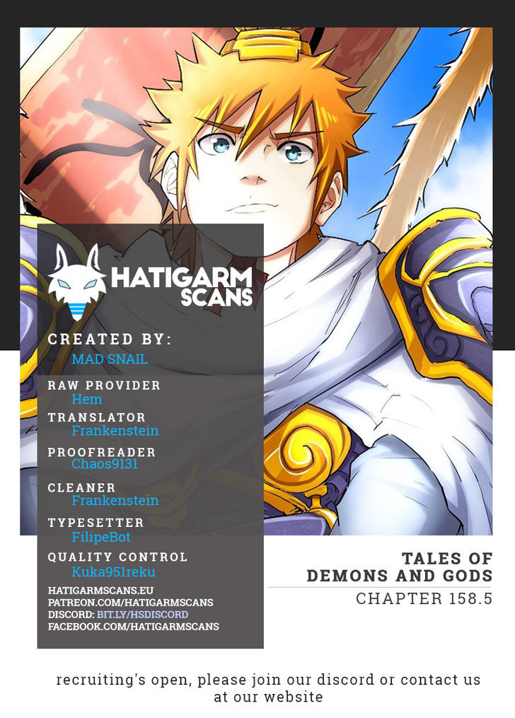 Tales of Demons and Gods 158.5