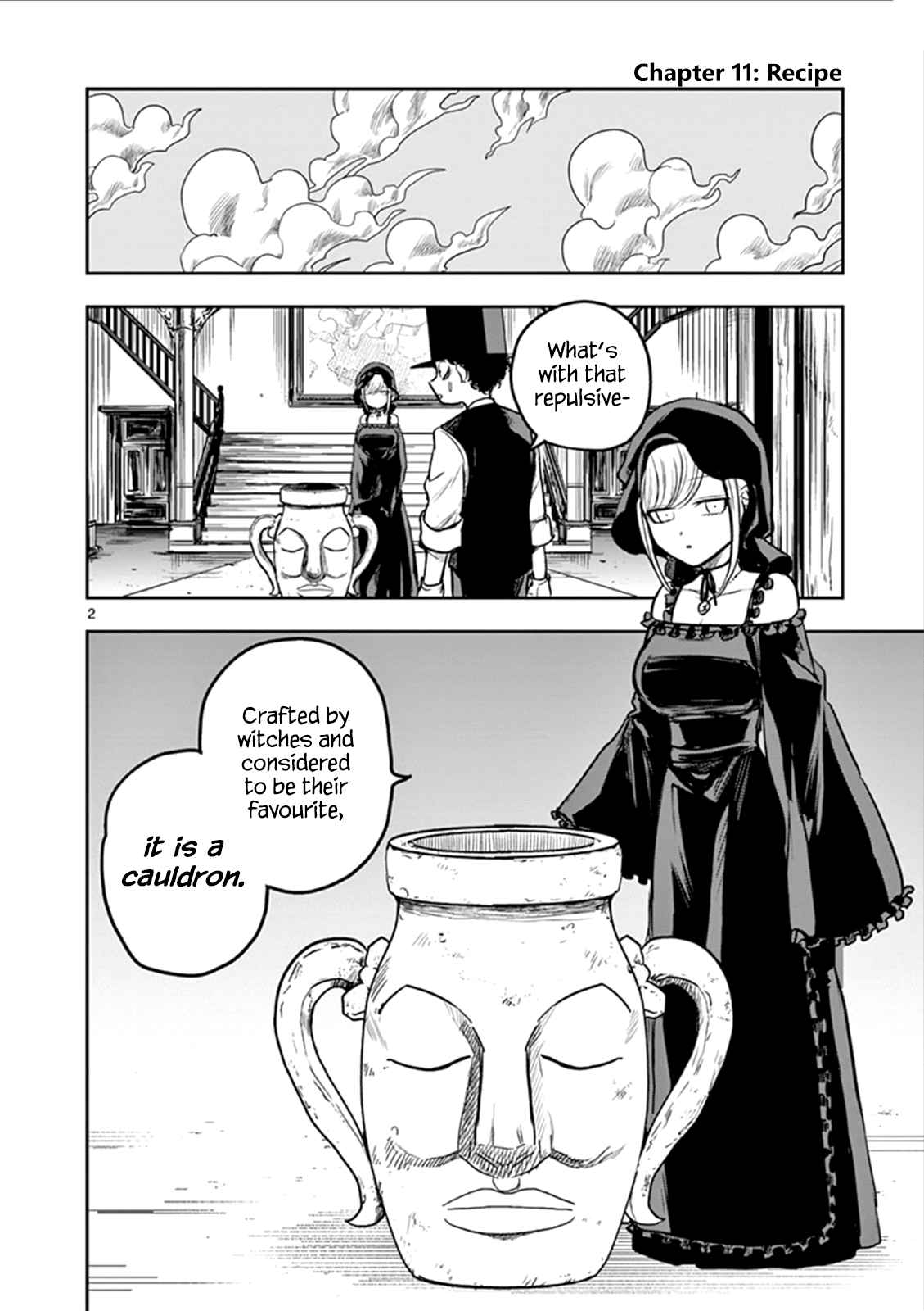The Duke of Death and His Black Maid Ch.11