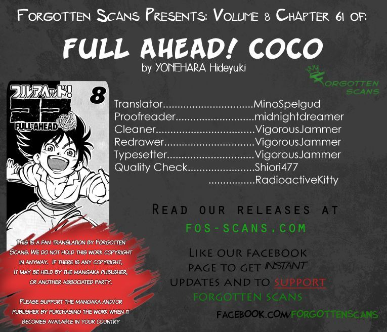 Full Ahead! Coco 61