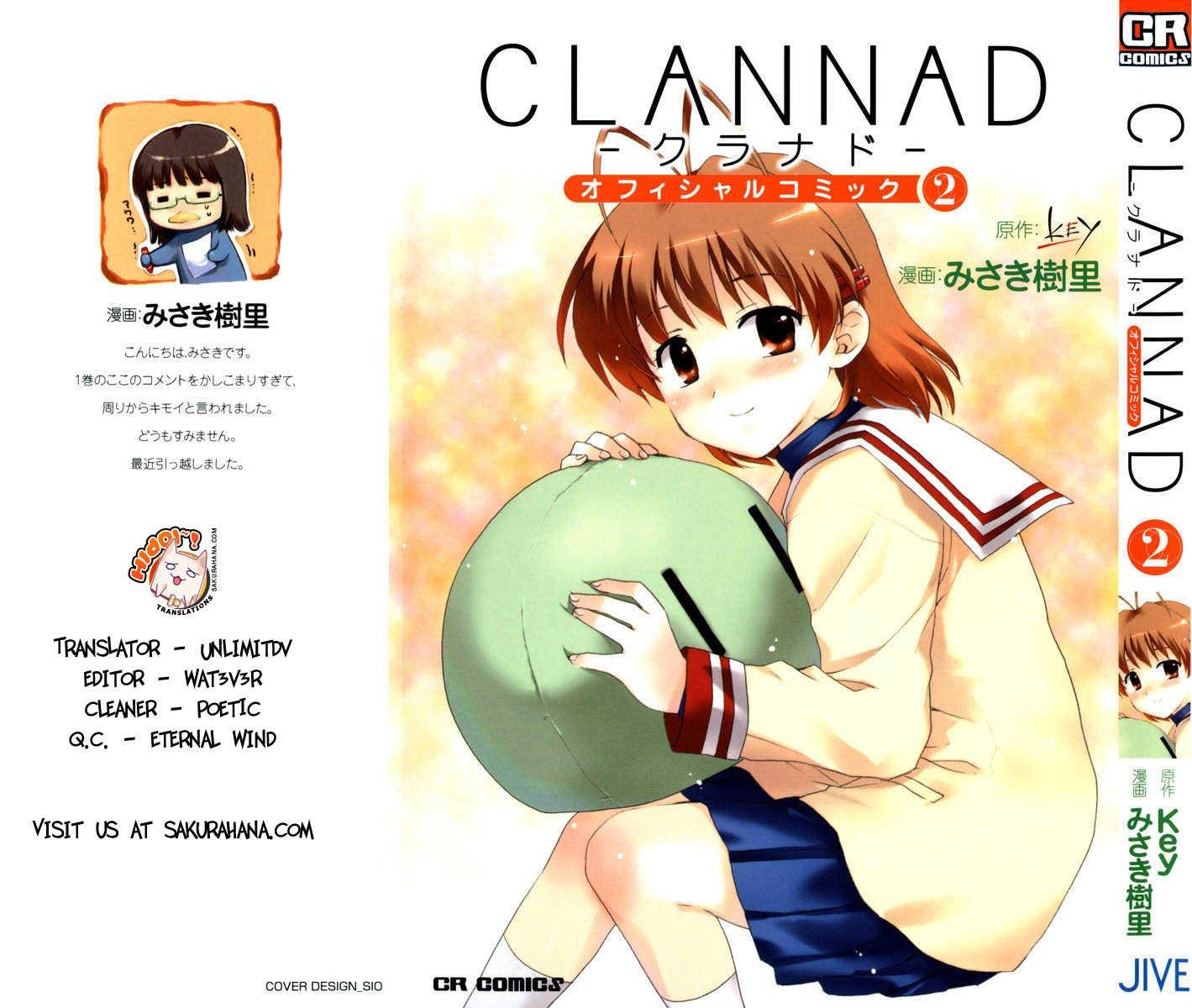https://im.nineanime.com/comics/pic9/61/3645/83246/Clannad70529.jpg Page 1