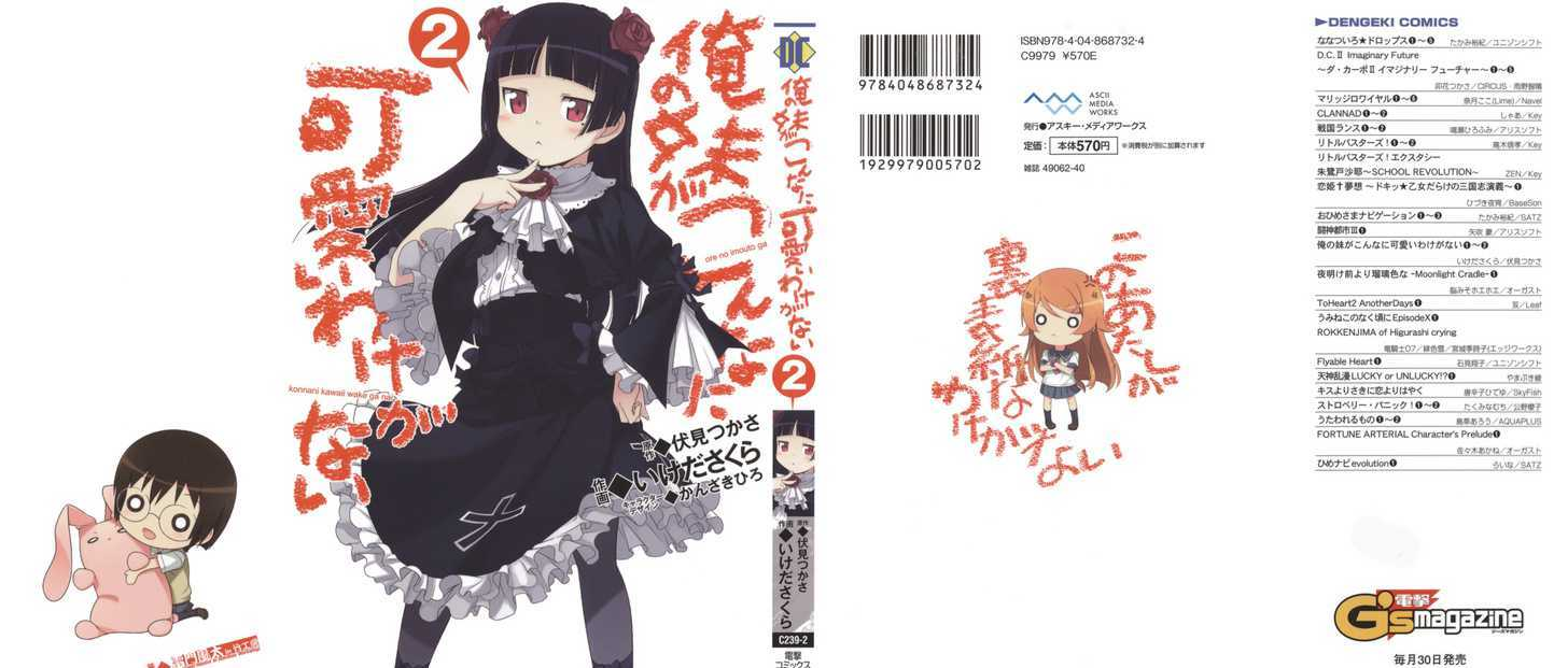 https://im.nineanime.com/comics/pic9/62/17086/265293/OrenoImoutogaKonnaniKawaii0547.jpg Page 1